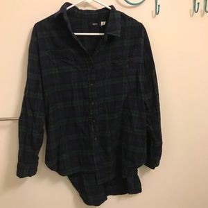 BDG Flannel Button Down